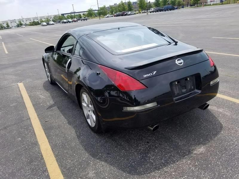 2003 Nissan 350Z for sale at Used Cars for Sale in Cicero IL