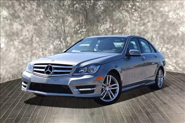 2013 Mercedes-Benz C-Class for sale at Used Cars for Sale in Cicero IL