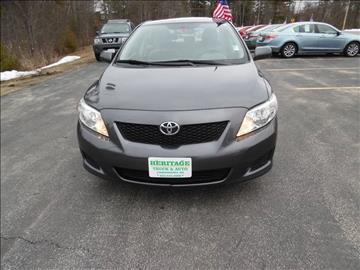 2009 Toyota Corolla for sale in Londonderry, NH