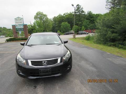 2008 Honda Accord for sale at Heritage Truck and Auto Inc. in Londonderry NH