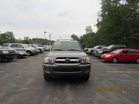 2005 Toyota Sequoia for sale at Heritage Truck and Auto Inc. in Londonderry NH