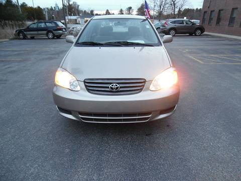2004 Toyota Corolla for sale in Londonderry, NH