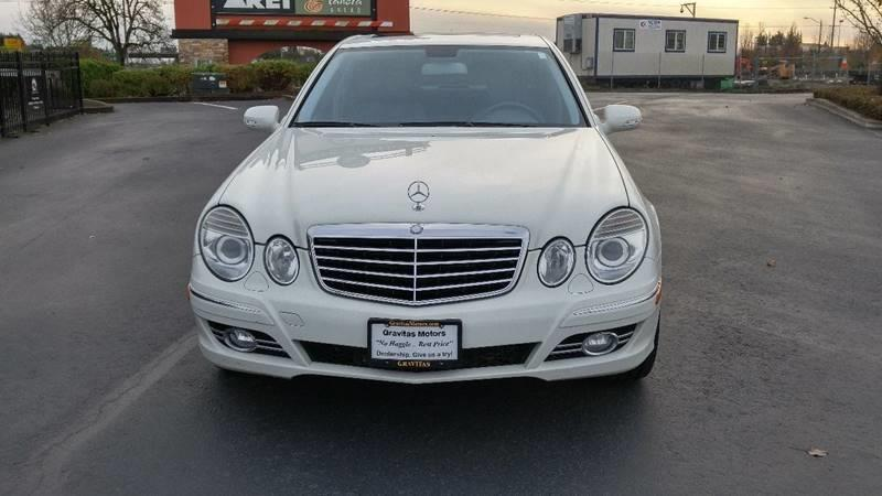 2007 Mercedes-Benz E-Class for sale at GRAVITAS MOTORS in Salem OR