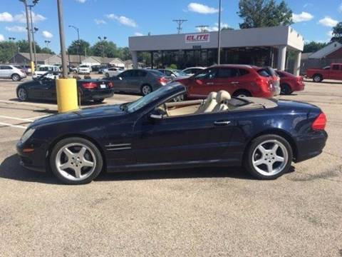 Mercedes benz sl class for sale for Mercedes benz for sale wichita ks
