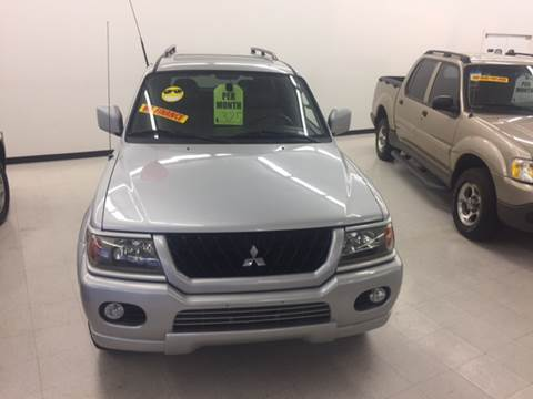 2002 Mitsubishi Montero Sport for sale in Las Vegas, NV