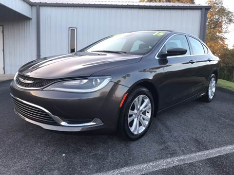2015 Chrysler 200 for sale in Bluff City, TN