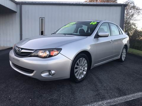 2010 Subaru Impreza for sale in Bluff City, TN