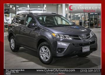 2014 Toyota RAV4 for sale in Culver City, CA