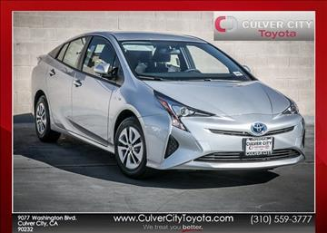 2017 Toyota Prius for sale in Culver City, CA