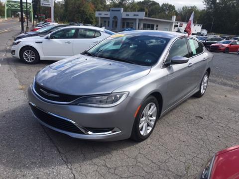 2015 Chrysler 200 for sale in Sunbury, PA