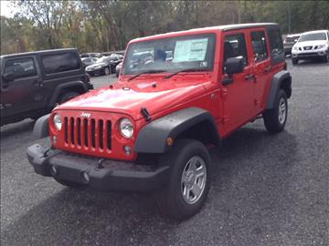 2016 Jeep Wrangler Unlimited for sale in Sunbury, PA