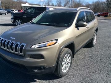 2017 Jeep Cherokee for sale in Sunbury, PA