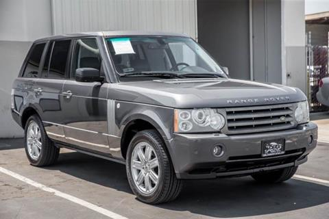 2006 Land Rover Range Rover for sale in Costa Mesa, CA