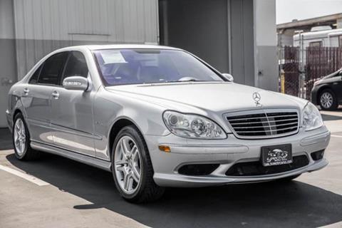 2003 Mercedes-Benz S-Class for sale in Costa Mesa, CA