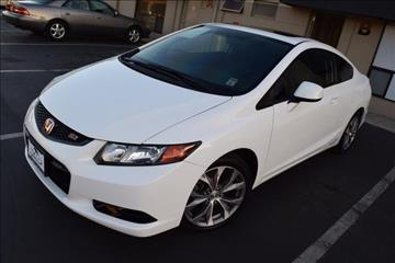 2012 Honda Civic for sale in Costa Mesa, CA