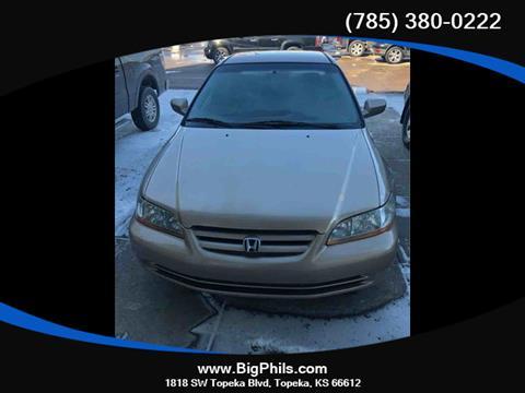2001 Honda Accord for sale in Topeka, KS