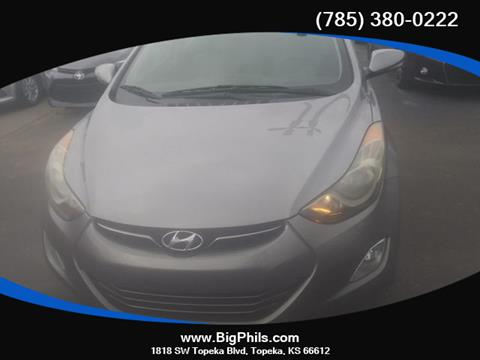 2012 Hyundai Elantra for sale in Topeka, KS