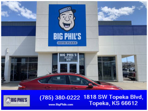 2016 Ford Fusion S for sale at Big Phils Auto Plaza in Topeka KS