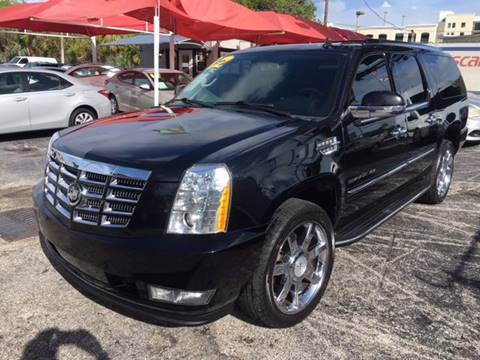 2012 Cadillac Escalade ESV for sale in Pompano Beach, FL