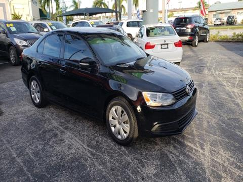 2011 Volkswagen Jetta for sale in Pompano Beach, FL