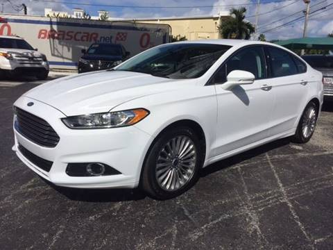 2014 Ford Fusion for sale at Brascar Auto Sales in Pompano Beach FL