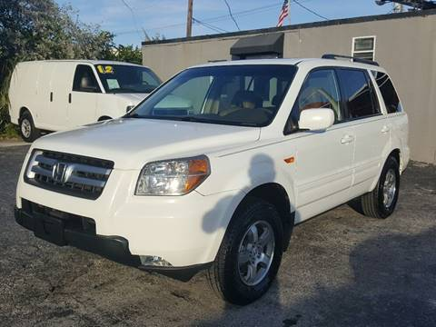 2007 Honda Pilot for sale at Brascar Auto Sales in Pompano Beach FL