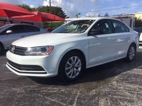 2015 Volkswagen Jetta for sale at Brascar Auto Sales in Pompano Beach FL