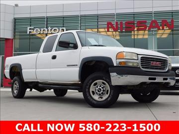 2001 GMC Sierra 2500HD for sale in Ardmore, OK