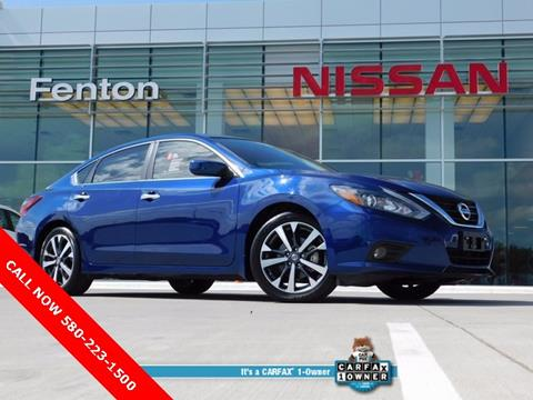2017 Nissan Altima for sale in Ardmore, OK