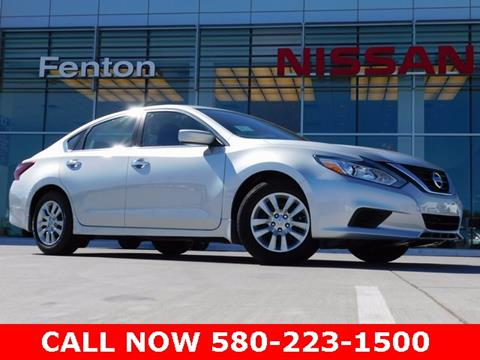 2018 Nissan Altima for sale in Ardmore, OK