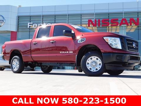 2017 Nissan Titan XD for sale in Ardmore, OK