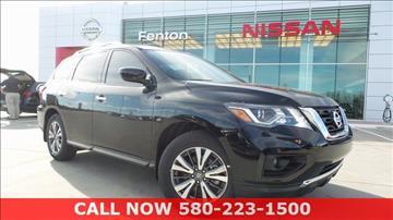 2017 Nissan Pathfinder for sale in Ardmore, OK