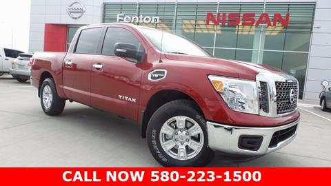2017 Nissan Titan for sale in Ardmore, OK