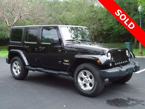 2015 Jeep Wrangler Unlimited for sale in Homestead, FL