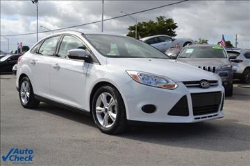 2014 Ford Focus for sale in Homestead, FL