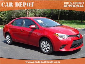 2014 Toyota Corolla for sale in Homestead, FL