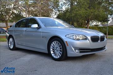 2011 BMW 5 Series for sale in Homestead, FL