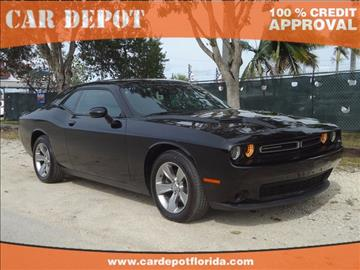 2015 Dodge Challenger for sale in Homestead, FL