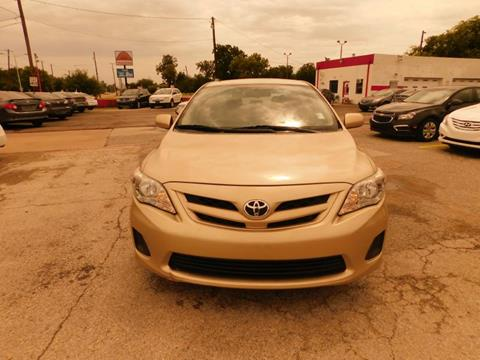 2012 Toyota Corolla for sale in Garland, TX