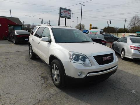 2011 GMC Acadia for sale in Garland, TX