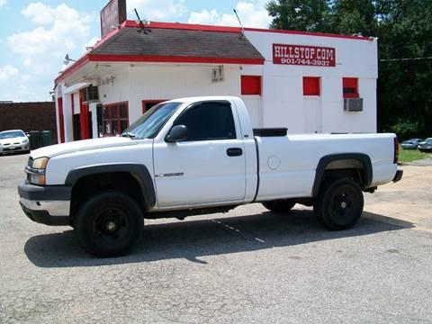 2004 Chevrolet Silverado 2500HD for sale at Hill Stop Motors in Memphis TN