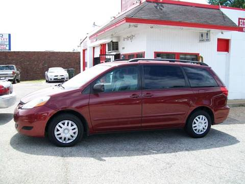 2008 Toyota Sienna for sale at Hill Stop Motors in Memphis TN