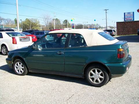 Volkswagen Cabrio For Sale in Tennessee - Carsforsale.com®