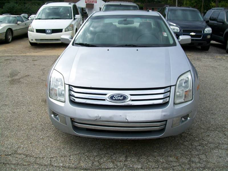 2006 Ford Fusion I4 Sel In Memphis Tn Hill Stop Motors