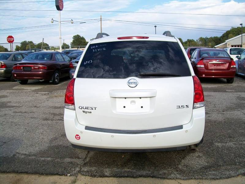 2006 Nissan Quest 3.5 S Special Edition In Memphis TN - Hill Stop ...