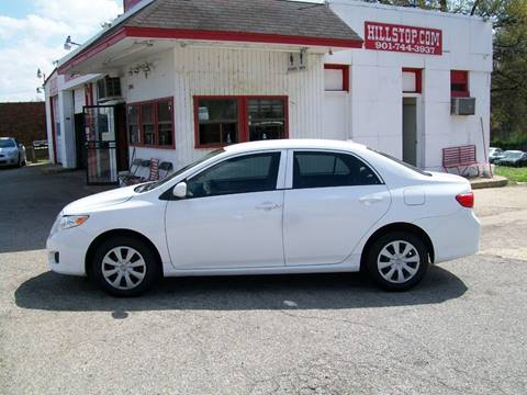 2010 Toyota Corolla for sale at Hill Stop Motors in Memphis TN