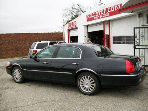 2003 Lincoln Town Car for sale at Hill Stop Motors in Memphis TN