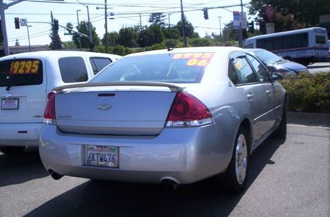 2006 Chevrolet Impala for sale in Modesto, CA