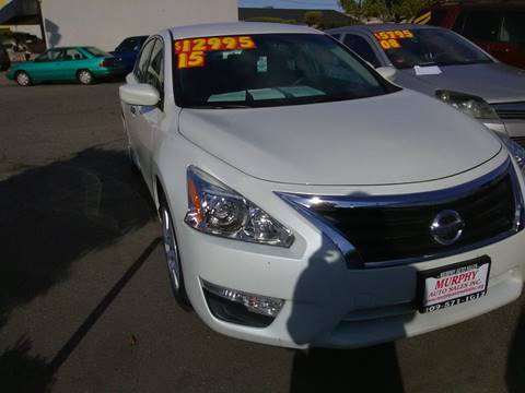 2015 Nissan Altima for sale in Modesto, CA