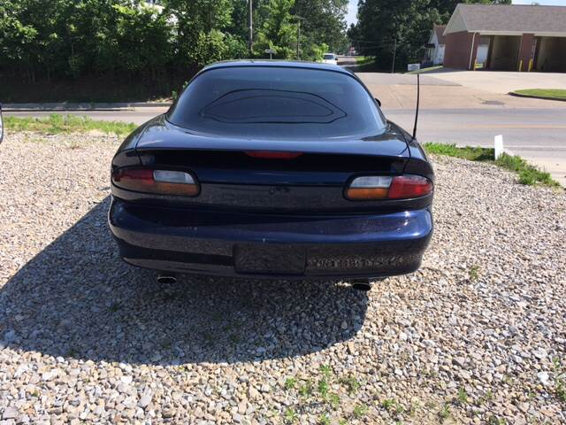 2001 Chevrolet Camaro for sale at Battles Storage Auto & More in Dexter MO